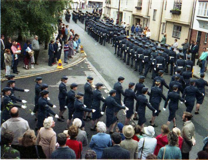 Militärmusik, Militärparade