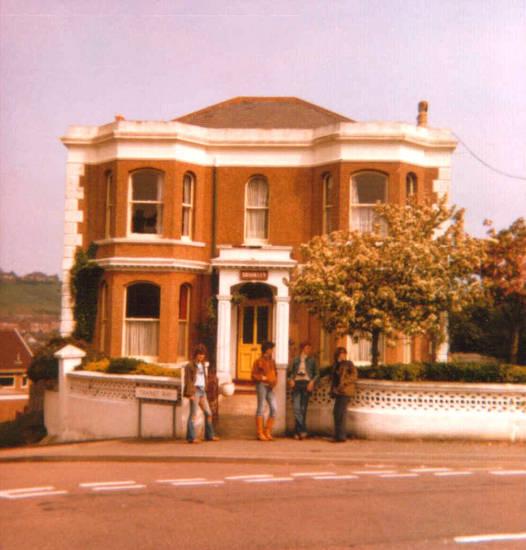 1978, baum, england, Hastings, Klassenfahrt, mode, stiefel