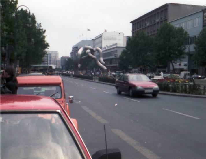 auto, berlin, KFZ, omega-a, PKW, Promenade, Stadtansicht, tauentzienstraße