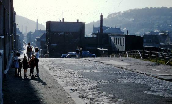 Straßenszene Elberfeld 1959