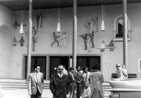 Eingang Kurhaus