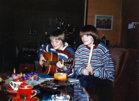 Gitarre und Blockflöte