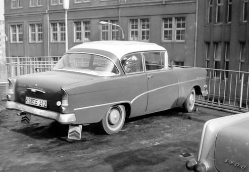 Opel-Rekord Baujr. 1958