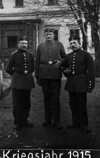1915, Einfahrt, Erster Weltkrieg, soldat, Uniform