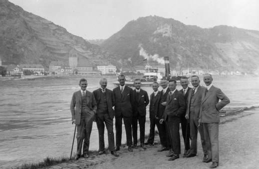 Gruppenfoto am Rhein