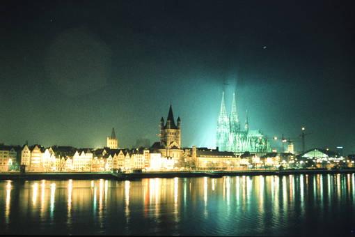 Kurz vor Neujahr in Köln