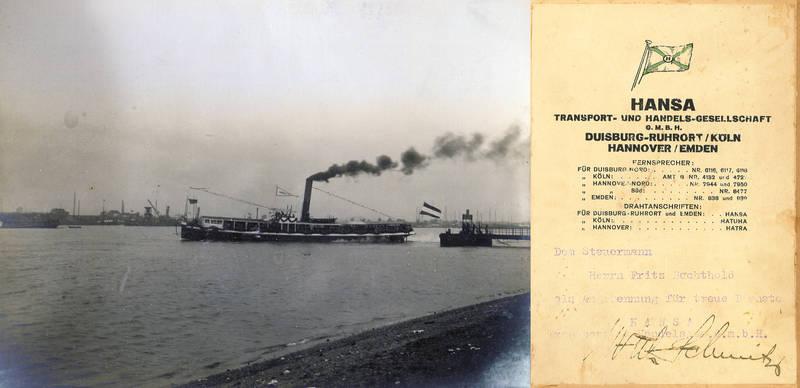 hansa, Hansa IV, Personendampfer, schiff