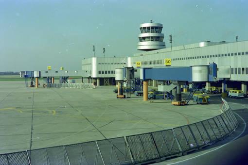 Flughafen-Gates