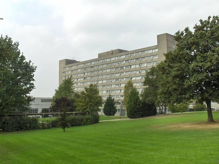 Arbeitsgemeinschaft, Kreiskrankenhaus Herford, Rohbau