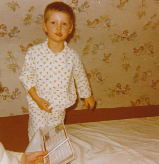 bett, Buch, Kindheit, Pyjama, Schlafanzug, tapete