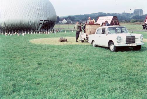 Ballonvorbereitungen