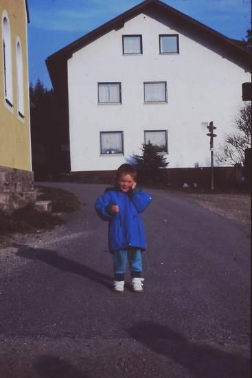 bayerischer wald, haus, junge, Kindermode, Schuppen, urlaub