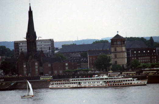 Blick auf Schlossturm