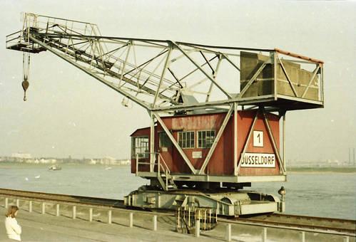 Kran am Hafen