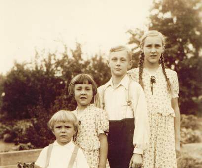 Familienfoto um 1939