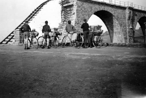 Gesprengtes Viadukt