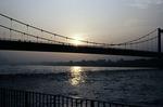Sonnenuntergang bei Köln
