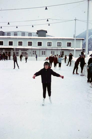 garmisch-partenkirchen, Kindheit, schlittschuh