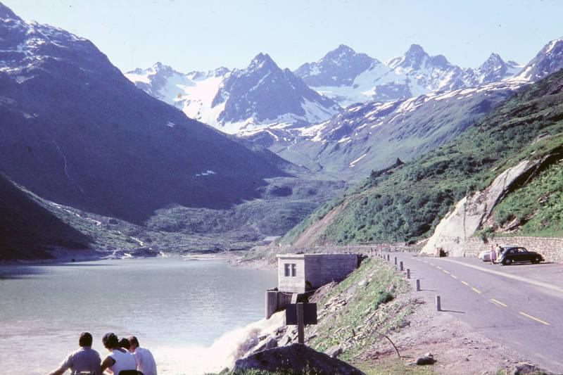 Berg, Gebirge, Ischgl, Österreich, see, Ufer, urlaub, Wanderung