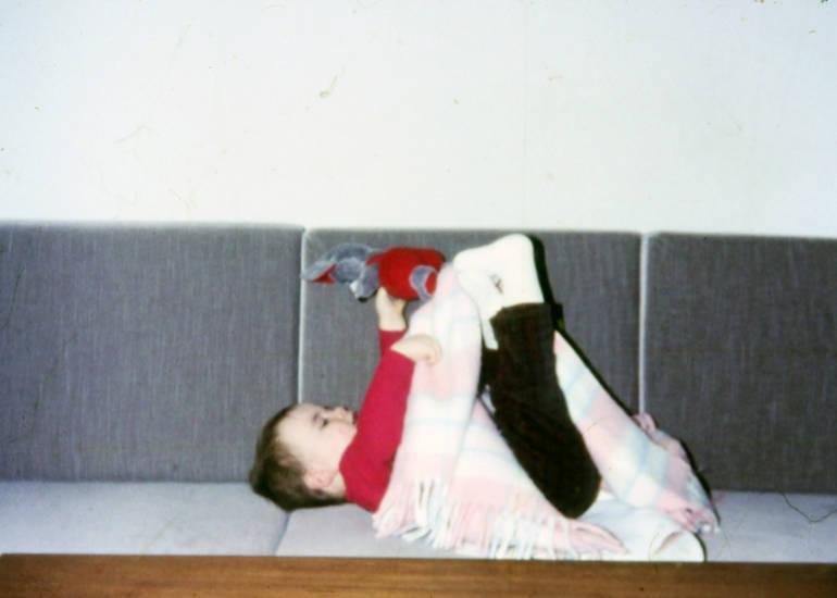 Decke, Kindheit, Kuscheltier, sofa, spiel