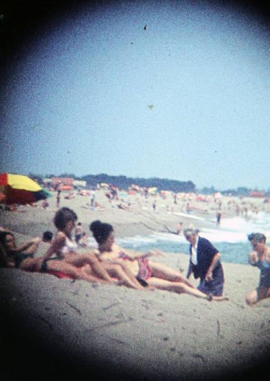 argeles, Frankreich, meer, sand, strand, süd-frankreich, urlaub