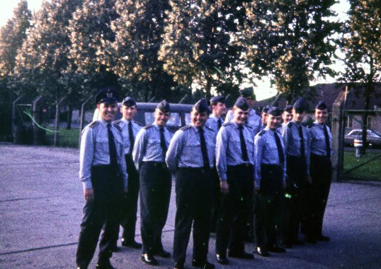 gruppe, Platz, Uniform