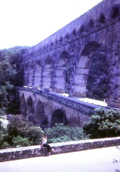 Aquädukt, brücke, Frankreich, Pont du Gard, weltkulturerbe