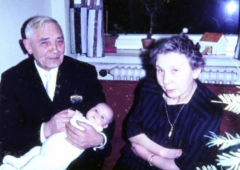 baby, Enkel, Großeltern