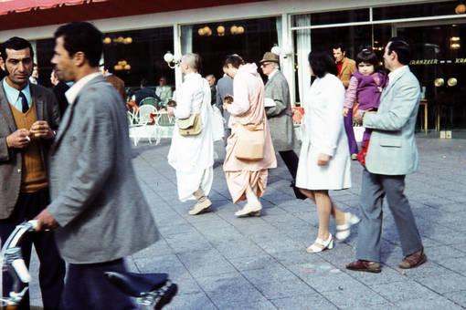 Hare Krishna auf dem Kudamm