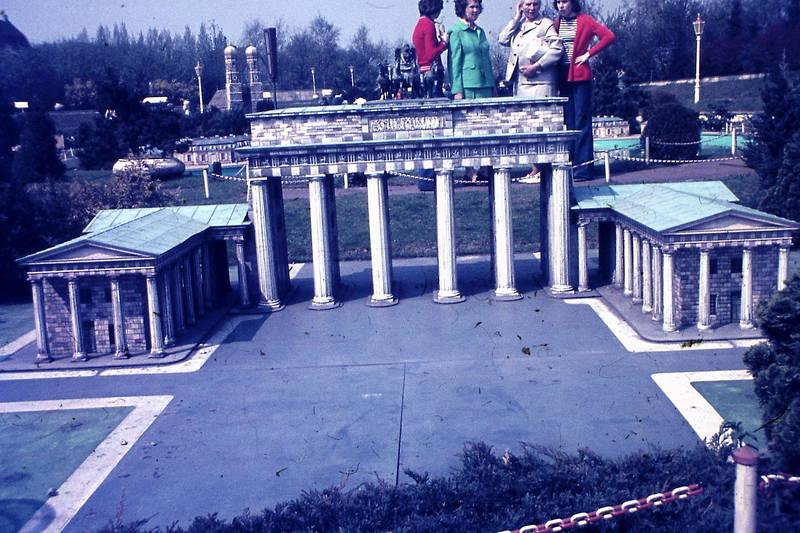 brandenburger tor, Miniatur, miniaturmodell, Miniaturpark, minidomm, park