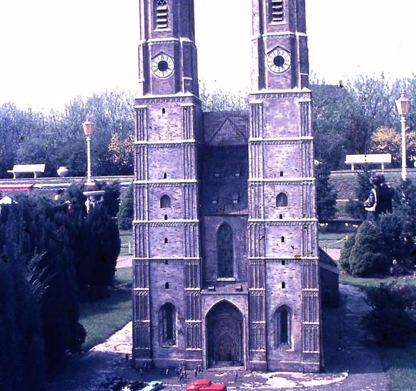 Frauenkirche, kirche, Miniatur, miniaturmodell, Miniaturpark, minidomm, park