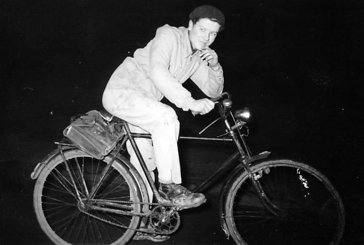 fahrrad, Gepäckträger, ledertasche, Tasche