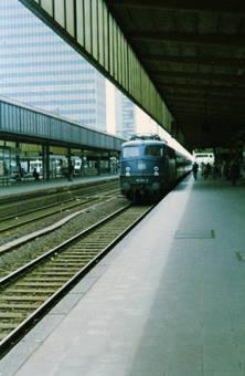 Halt in Essen