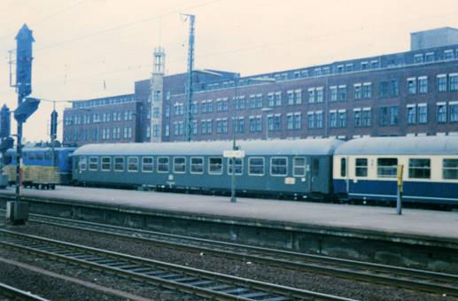 Bundesbahn Waggons