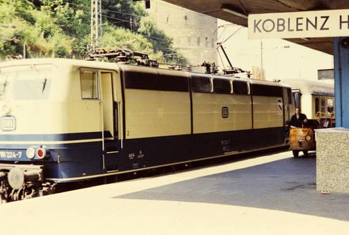 Halt in Koblenz