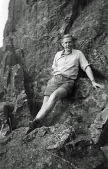Entspannung am Felsen