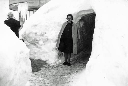 Schnee- und Eismassen