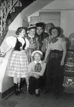 Karnevalstruppe