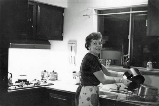 Klar Schiff in der Küche