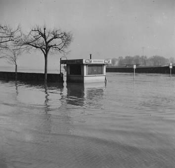 Hochwasser Köln 1957