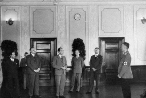 Empfang im Nürnberger Rathaus