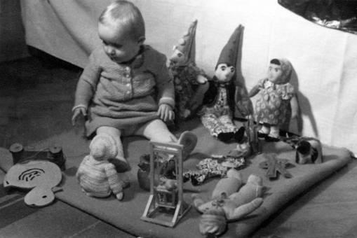 Kleine Puppen-Sammlung