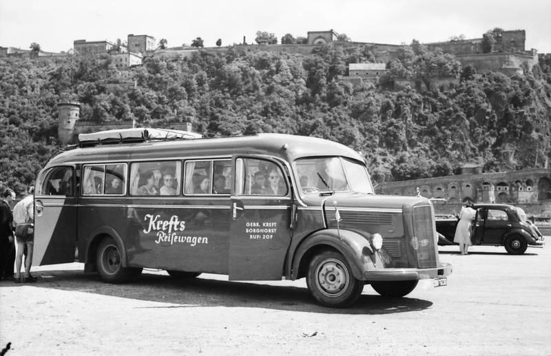bus, Deutsches Eck, Festung, Festung Ehrenbreitstein, Idar-Oberstein, KFZ, Koblenz, krefts, krefts reisewagen, PKW, Reisebus, reisewagen, Rhein