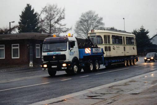 Bahn-Transport