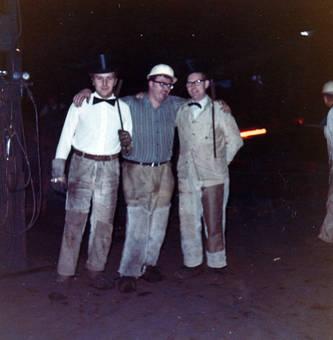 Arbeiter mit Zylinder