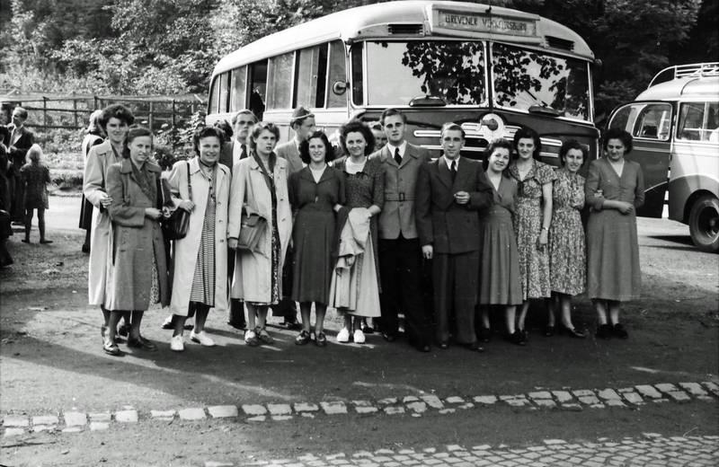 ausflug, bus, reise, Reisebus, reisegruppe
