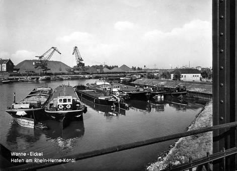 Am Hafen von Wanne-Eickel