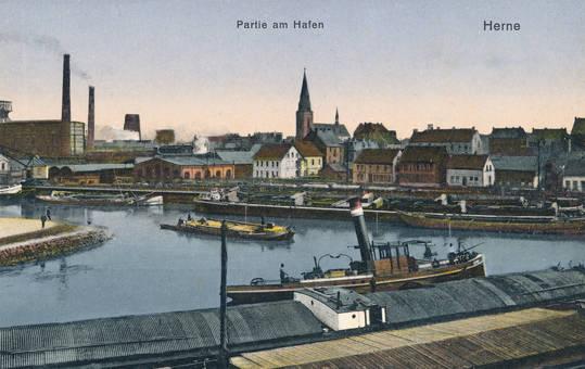 Partie am Hafen