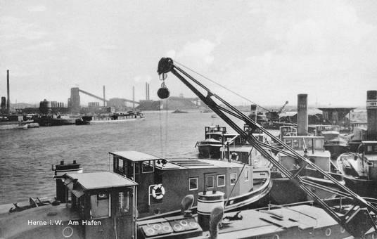 Am Hafen von Herne