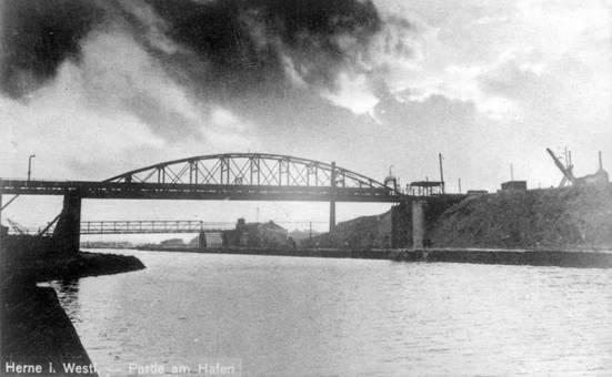 Hafenbrücke in Herne